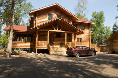 cabin in Northern Wisconsin