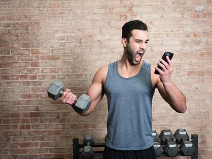Hamid Castro, fitness coach