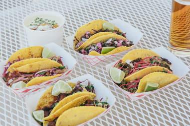 eight row flint, tacos