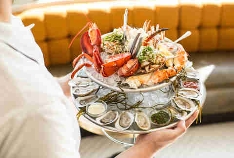 State of Grace, seafood platter