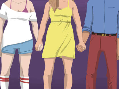 illustration of polyamory