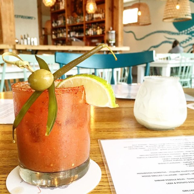 Alcomar bloody mary in Austin