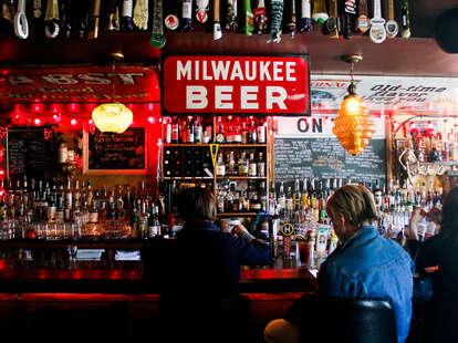 Interior of Bar at Burnhearts