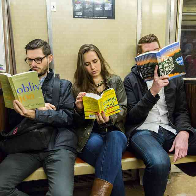 Writers You Should Absolutely Never Read on the Subway