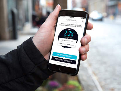 uber screenshot in iphone 6s