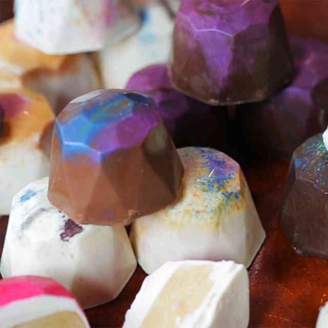 Mini Melanie Debuts Jewel Rainbow Truffles
