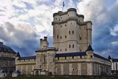 Donjon du Château de Vincennes paris castle