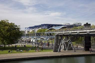 Parc de la Villette park paris