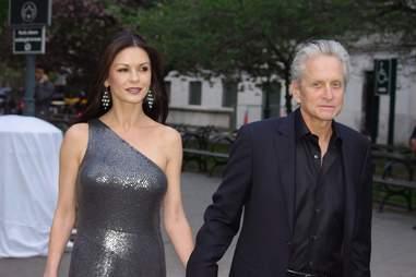 Catherine Zeta Jones and Michael Douglas couple