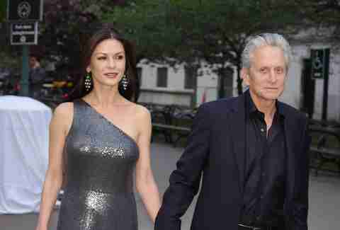 Catherine Zeta Jones and Michael Douglas couple