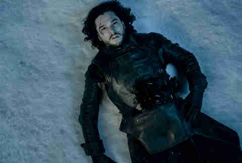 jon snow dead game of thrones