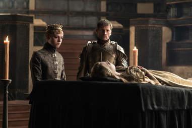 jamie lannister tommen game of thrones
