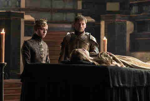 jamie lannister tommen game of thrones