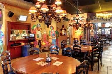 interior round tables chandeliers mexican san diego thrillist