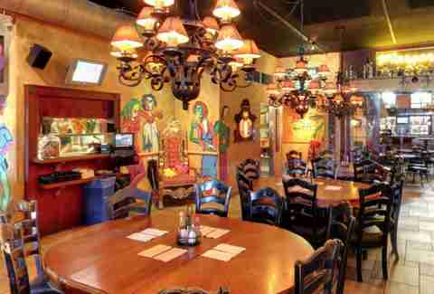 interior round tables chandeliers mexican san diego thrillist