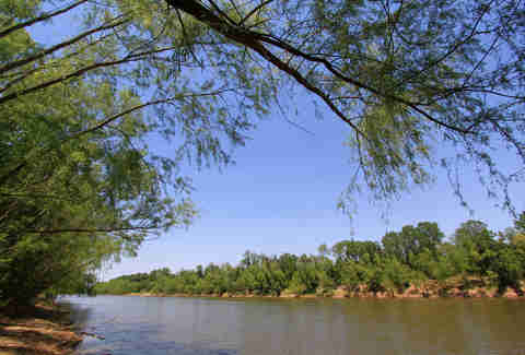 Brazos River in Texas