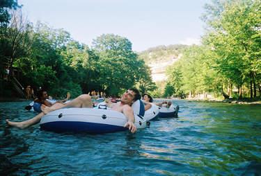 tubing in Austin