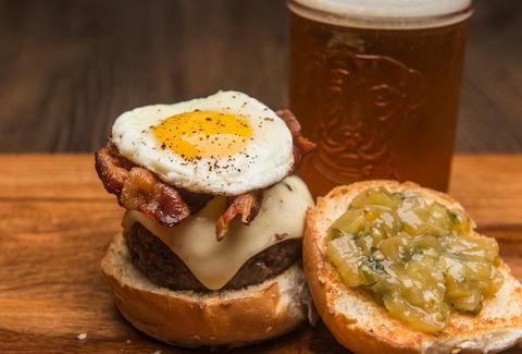 HoM Charleston egg burger thrillist