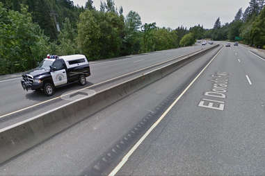 California actually has laws about speed traps