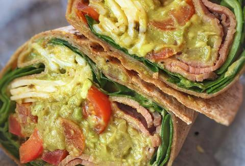 Guacamole Wrap from Pogue's Run Grocer