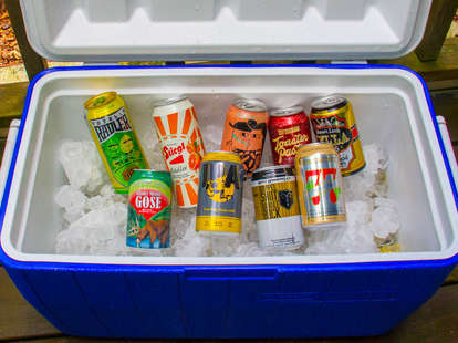 summer can beer