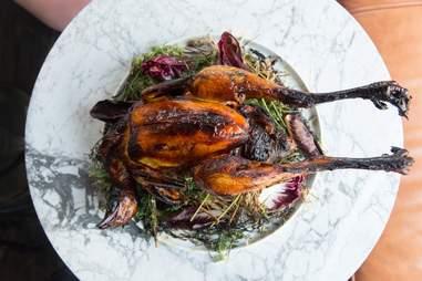 le turtle whole roast chicken