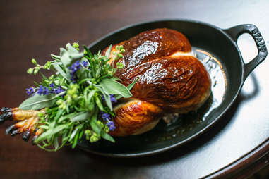 whole chicken at the nomad