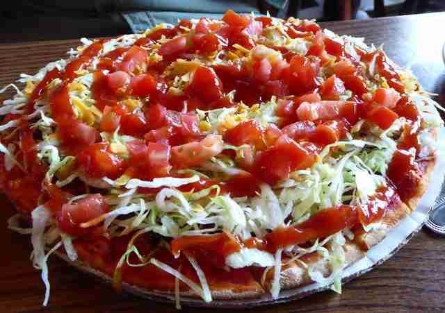 salad pizza detroit michigan thrillist