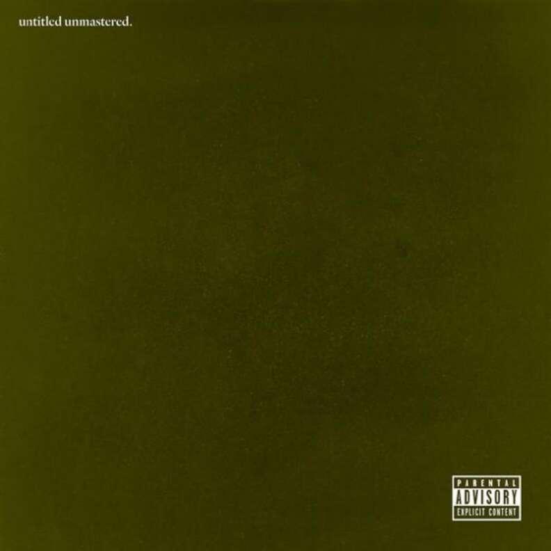 Kendrick Lamar, Untitled Unmastered, Best Albums of 2016