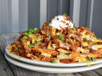 loaded fries at Doc's Bar and Grill