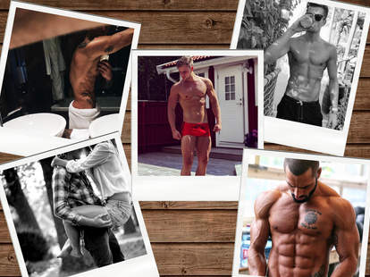 Nina Gonzales collage of Tumblr men for Thrillist
