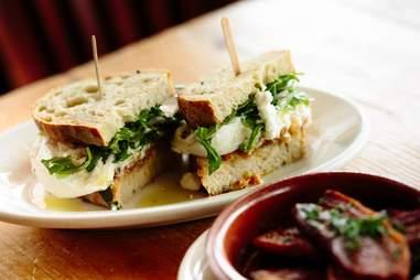 Cheese sandwich at Salumi