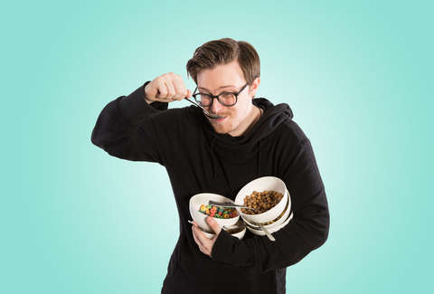 I ate nothing but cereal for a week heres what happened thrillist eating cereal ccuart Gallery