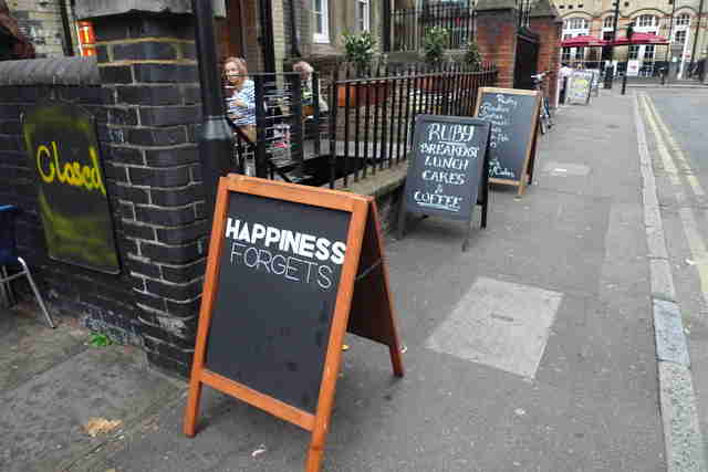 Happiness Forgets bar