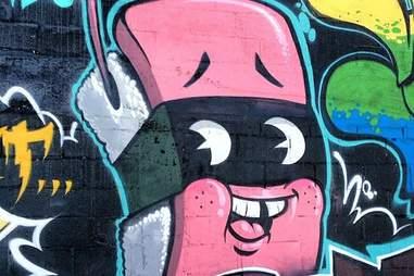 Spam graffiti