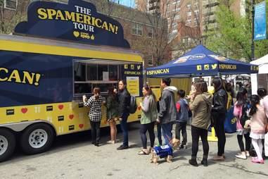 SPAM tour truck