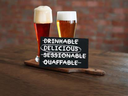beer terms