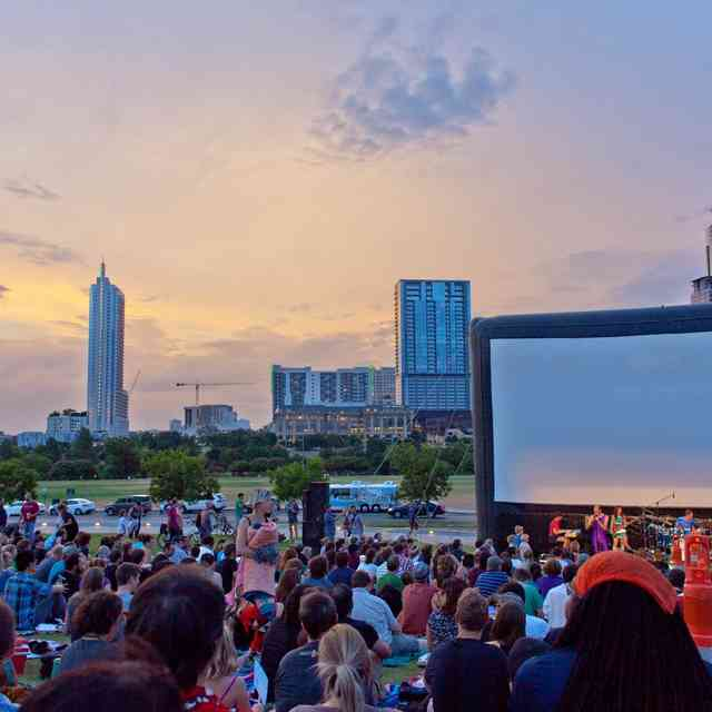 Every Free Outdoor Movie Screening in Austin This Summer
