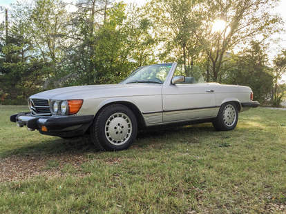 This Mercedes is somehow under $6k