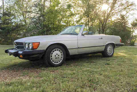 1981 Mercedes-Benz 380SL For Sale