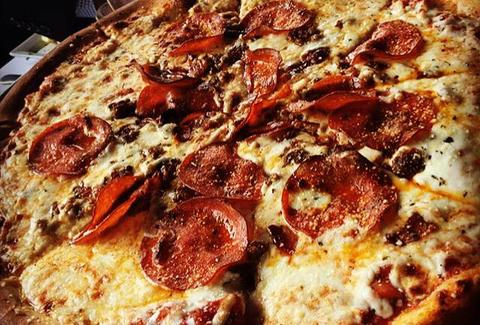 Strano Sicilian Kitchen & Bar deep dish pepperoni pizza pie memphis tn thrillist