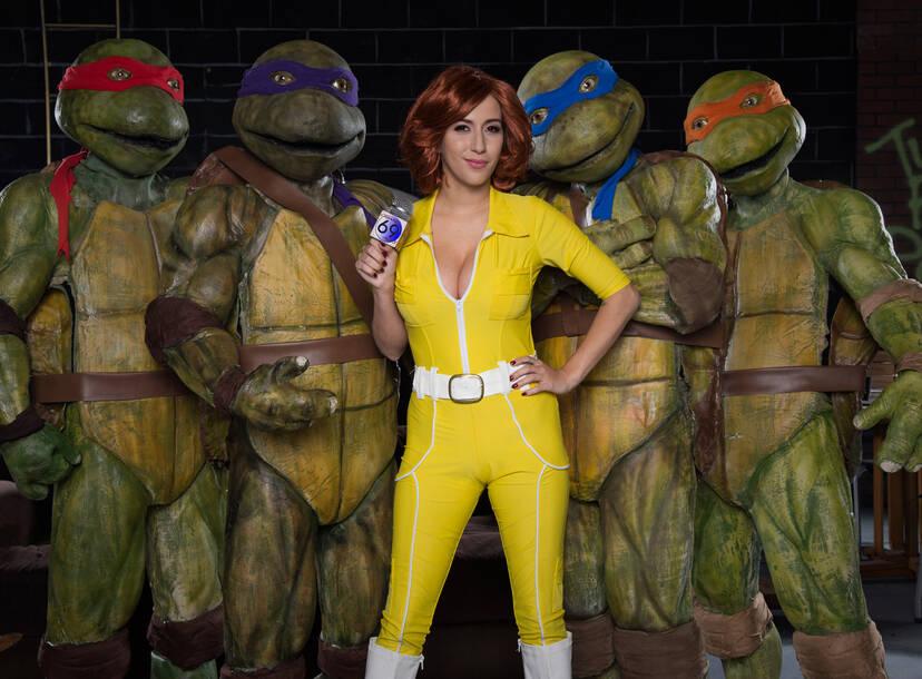 Ten Inch Mutant Ninja Turtles Cast
