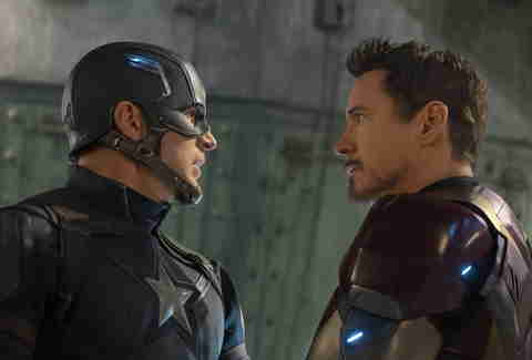 iron man and captain america civil war