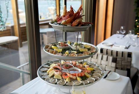 Seafood tower at Prime