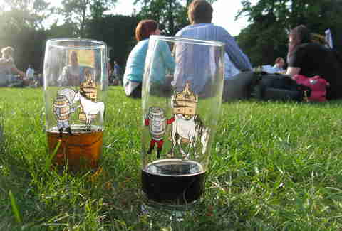 beer festival outdoors