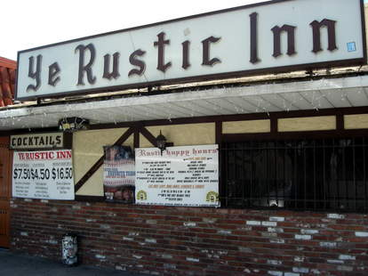 Ye Rustic Inn Los Angeles dive bar