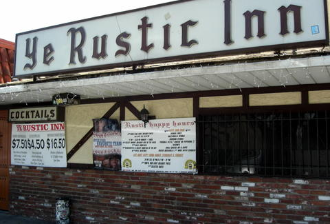 Ye Rustic Inn Los Angeles dive bar