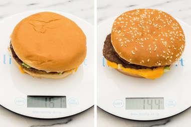 Big Mac Weigh In