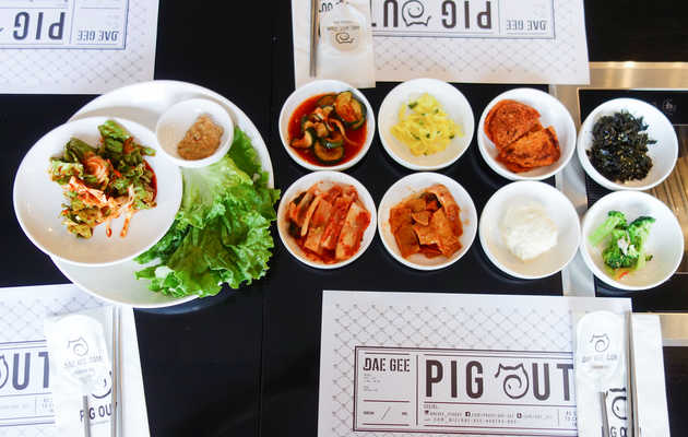 Here's What's in All Those Little Dishes at Korean Barbecue