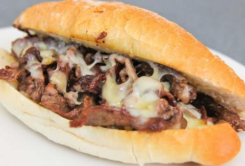 DiOrio's Pizza & Pub cheesy steak sandwich thrillist louisville